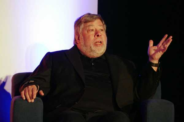 Wozniak discute des robots, du design et des origines d'Apple