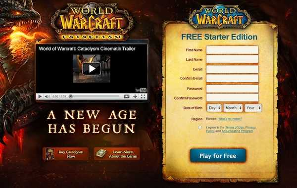 World of Warcraft is nu gratis te spelen tot niveau 20